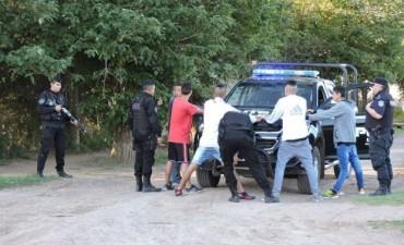 Mega operativo de control policial
