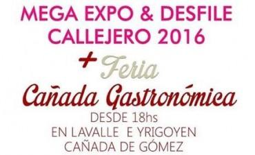 Mega desfile y Feria Gastronómica