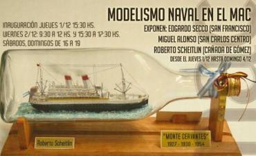 Modelismo naval en el MAC