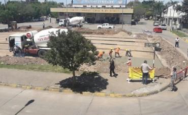 Avanzan los trabajos en la Terminal de Ómnibus