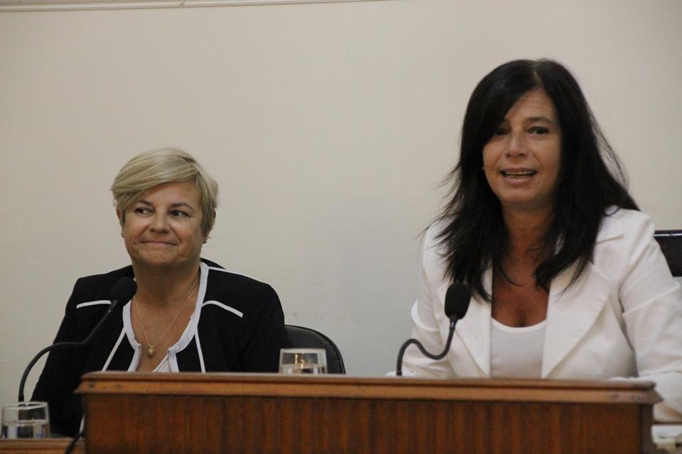 Carina Mozzoni abordó el tema seguridad en su visita a Mañana Wapa