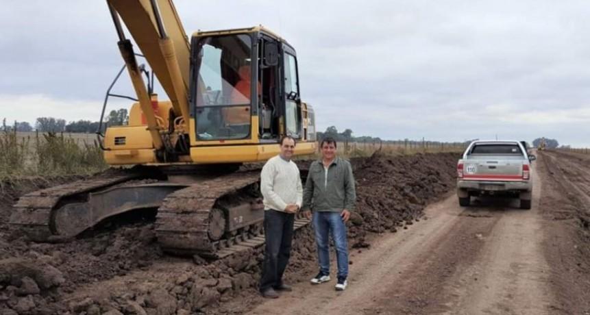 Obras hídricas para Iriondo