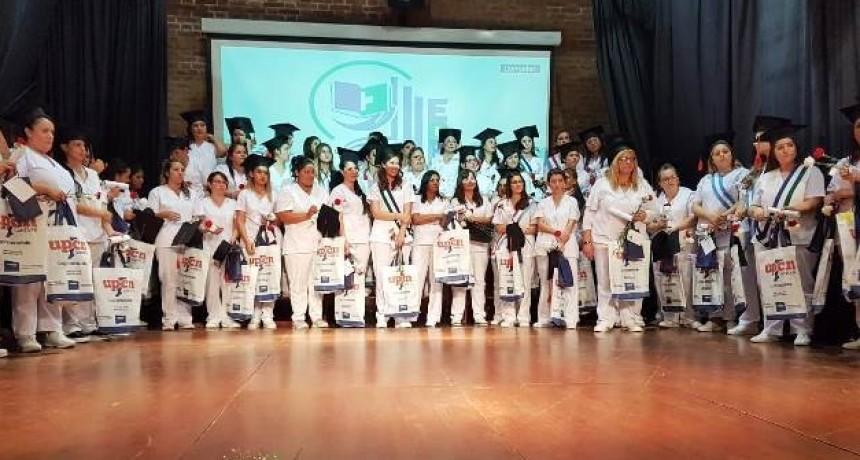 UPCN presente en el Acto de Egreso de la Escuela de Enfermería de Cañada de Gómez