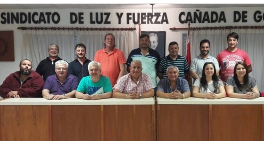 Renovación de la Comisión Directiva del Sindicato de Luz y Fuerza