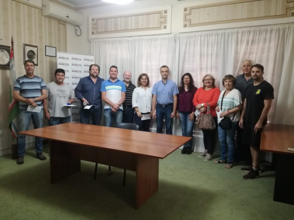 Entrega de aportes del Senado a instituciones de Cañada de Gómez