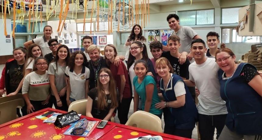 El colegio Florentino Ameghino recibió aportes