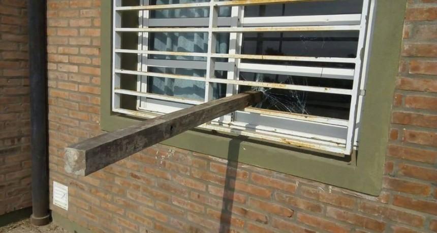 Vandalismo en la Escuela Rafael Figueroa