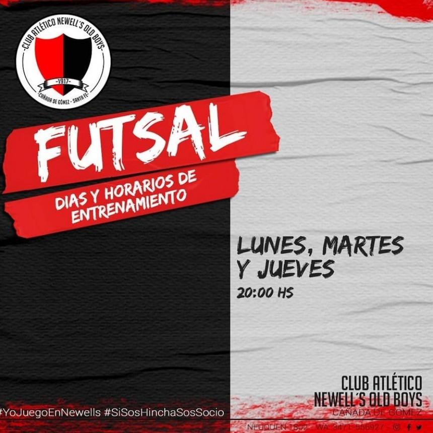 Futsal en el club NOB