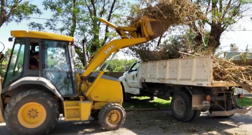 El Municipio continúa con trabajos de higiene urbana