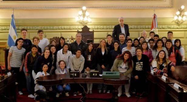 Alumnos cañadenses participaron en Diputados por un Día