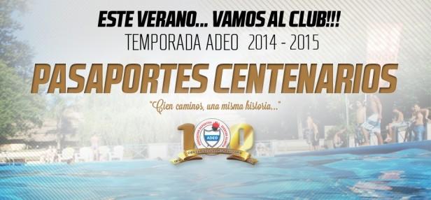 ADEO anunció sus Pasaportes Centenario