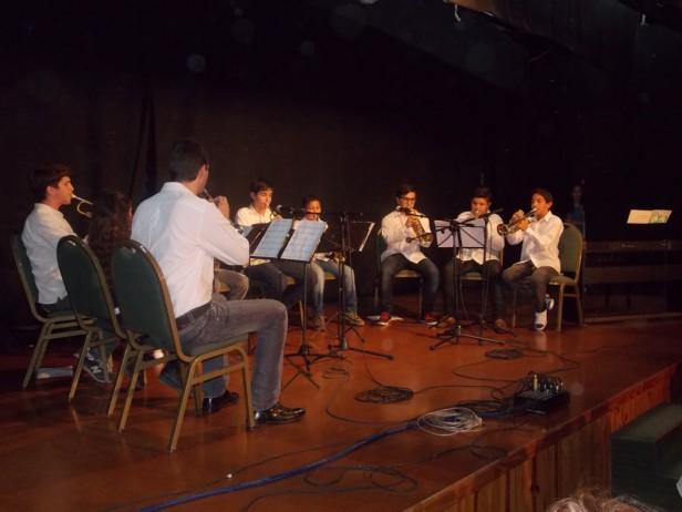 La Escuela Municipal de Música y Banda Vicente Beltrán realizó su muestra anual
