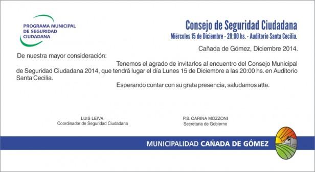 El Consejo de Seguridad Ciudadana se reunirá esta noche