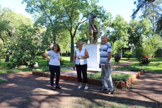 El Municipio realiza trabajos en plaza Stella Maris