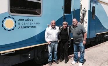 El Tren De Pasajeros Que Unirá Rosario-Córdoba Llegó a Nuestra Ciudad