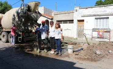 El municipio continúa con trabajos de bacheo