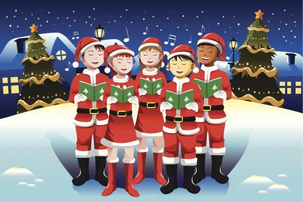 Villancicos navideños cantados por grandes y chicos