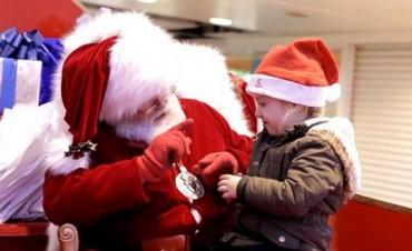 Sacate una foto con Papa Noel