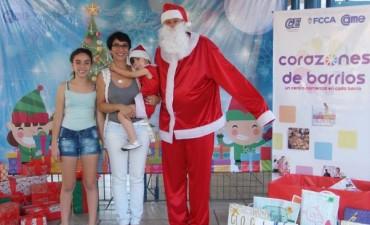 Papá Noel recorre la ciudad