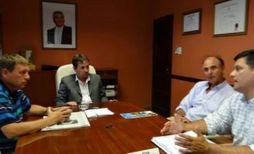 Las Parejas: Visita del Director General de Aduanas