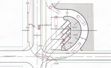 La nueva terminal se realizará en Av. Santa Fe y Sarmiento