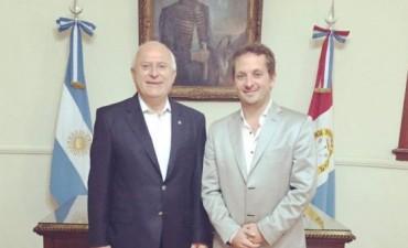 Diego Mansilla se reunió con Miguel Lifschitz