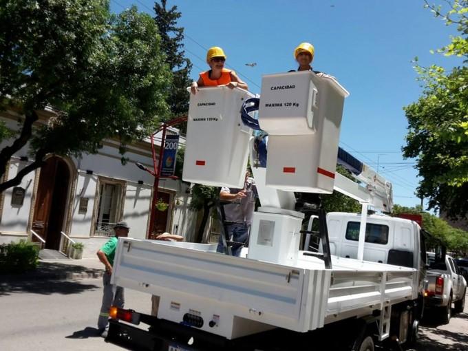 El Municipio adquirió hidrogrúa para trabajos en altura