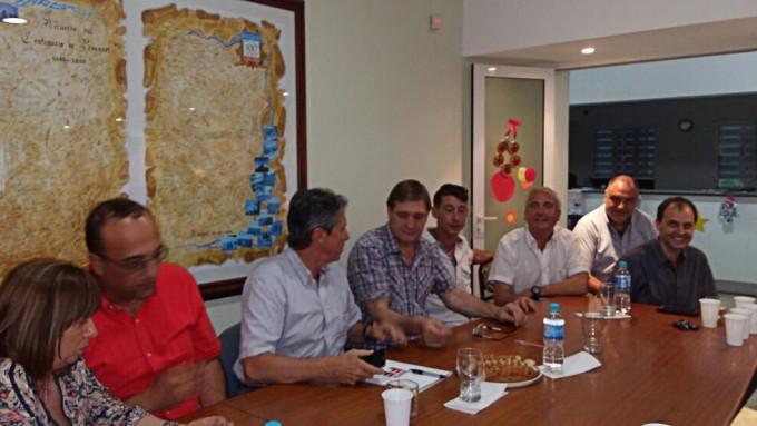 Se realizó una nueva reunión entre Córdoba, Santa Fe y Nación por el Río Carcaraña