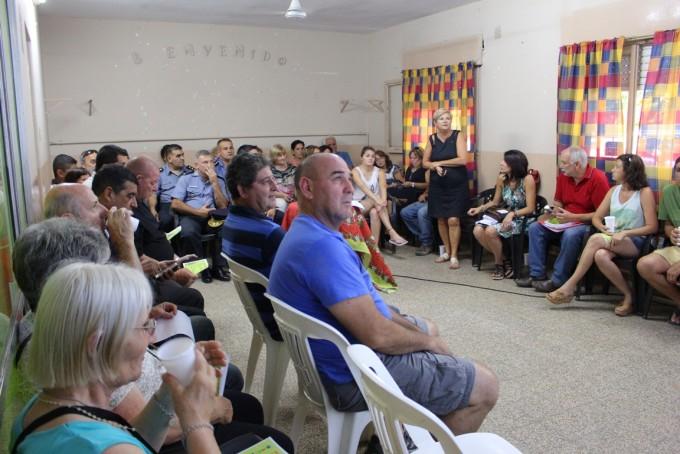 Reunión de la Inter Vecinal con el tema Seguridad como eje
