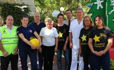 Municipio e instituciones lanzan campaña de prevención de accidentes