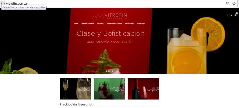 FUDECA lanzó la web de Vitrofin para la comercialización de productos por internet