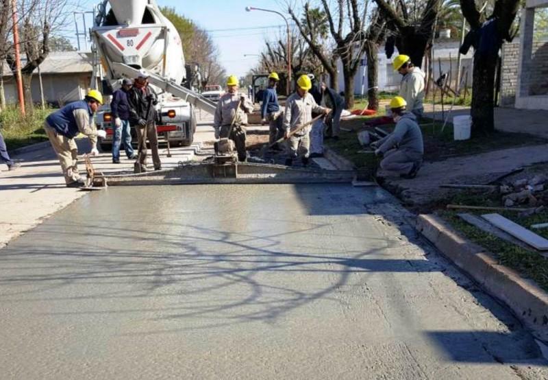 Iriondo podría disponer de 115 millones de pesos para obras de pavimento