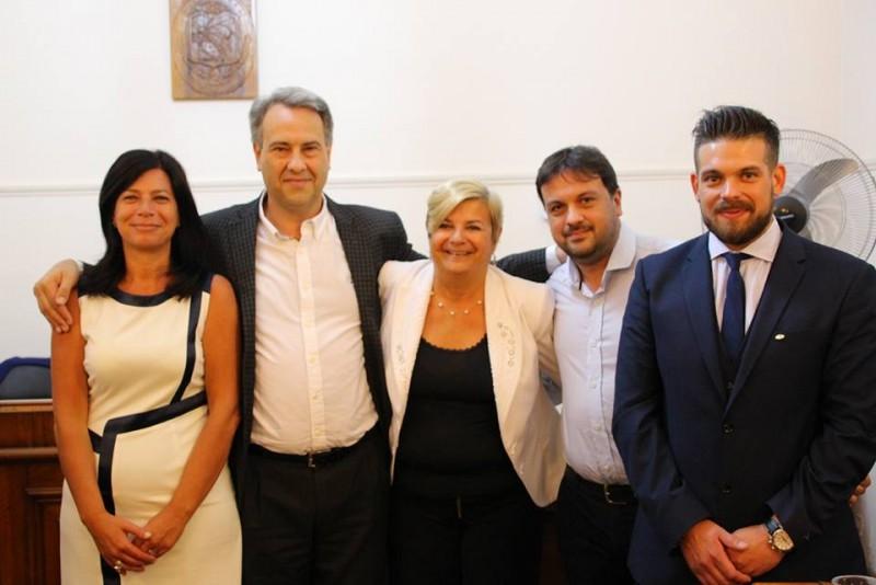 Marcelo Casalegno asumió nuevamente gracias al voto de la ciudadania