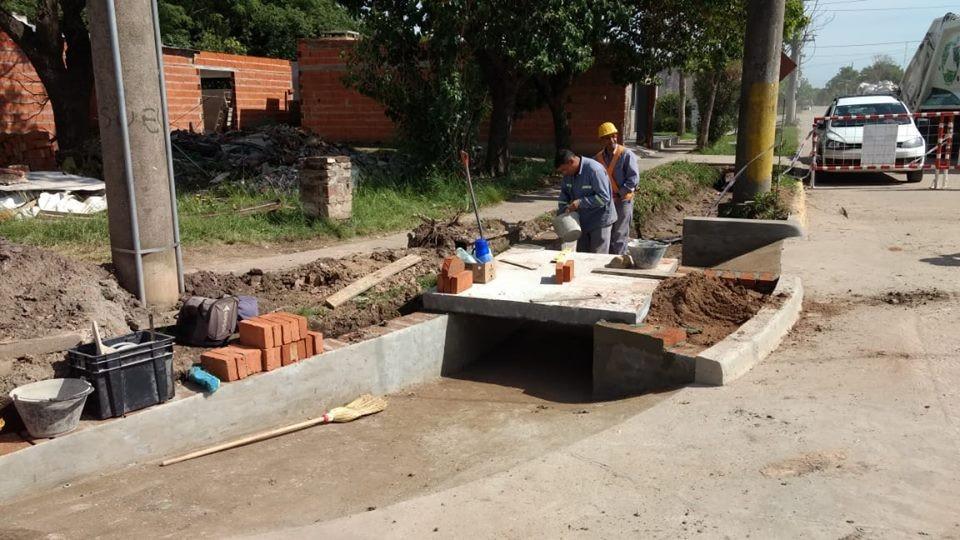 El Municipio realiza intervenciones en obras publicas en diferentes sectores de la ciudad