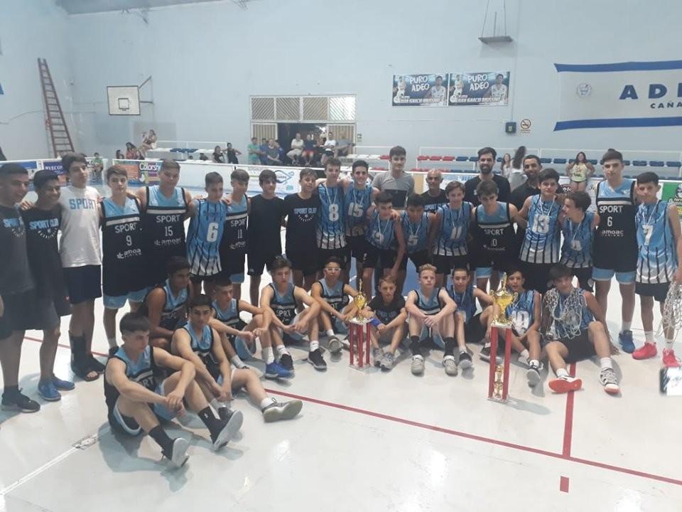 El club San Martín de Marcos Juarez ganó el Osvaldo Sayas
