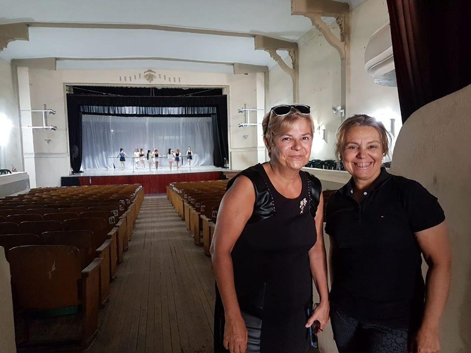 Avanzan los trabajos en el Teatro Cervantes