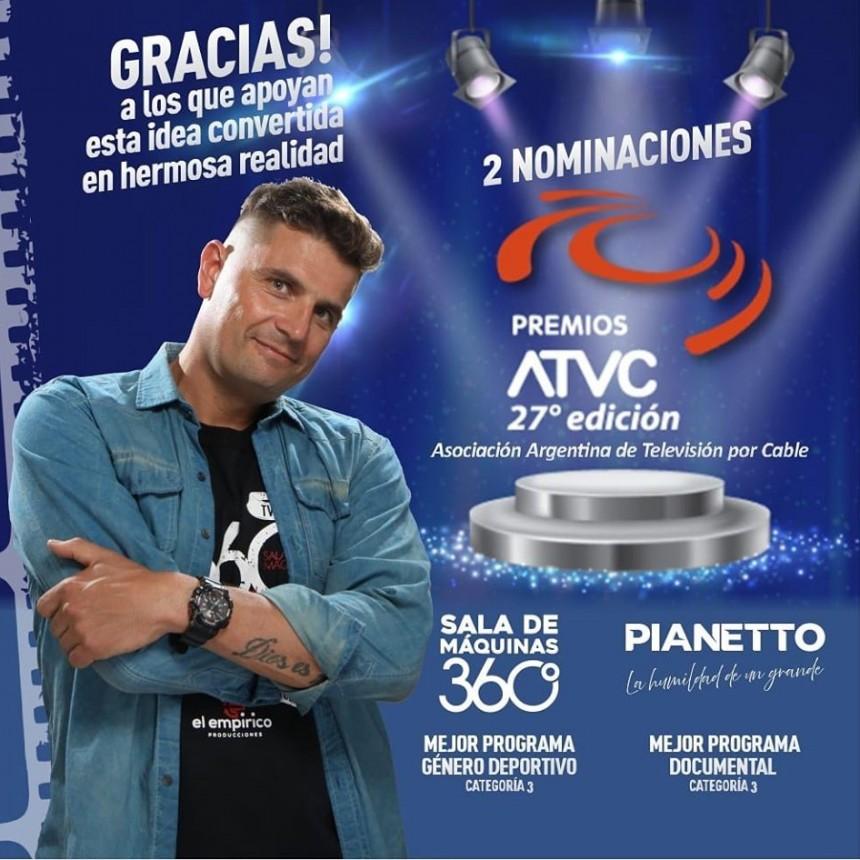Sala de Maquinas y Pianetto con premios en los ATVC