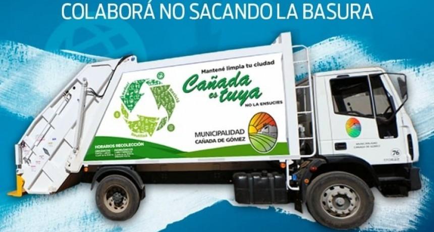 Hoy la recolección de residuos será normal